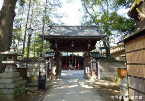 赤坂氷川神社神門