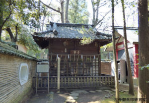 赤坂氷川神社額堂