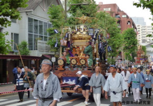 赤坂氷川神社宮神輿