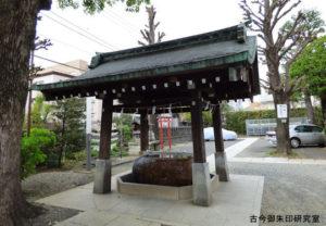 麻布氷川神社手水舎