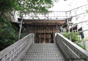 十番稲荷神社拝殿