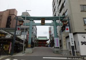 神田神社鳥居