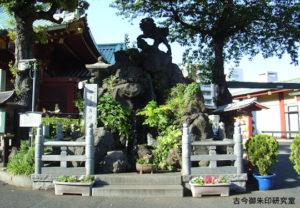 神田神社獅子山