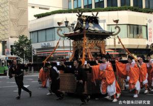 神田神社神田祭三の宮鳳輦