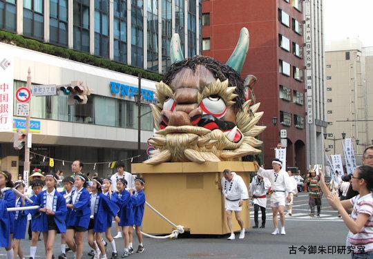神田神社神田祭大江山凱陣