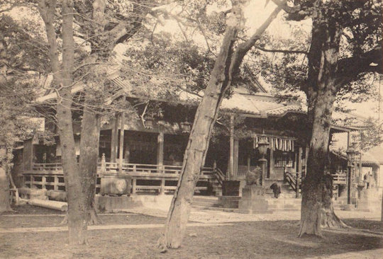 神田神社(大正11年)