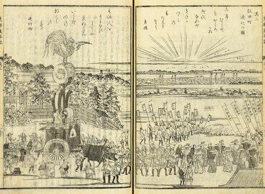 神田神社『東都歳時記』