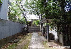 櫻田神社参道