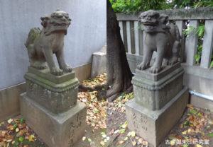 櫻田神社狛犬