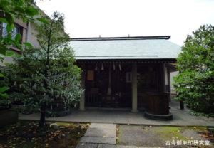 櫻田神社拝殿