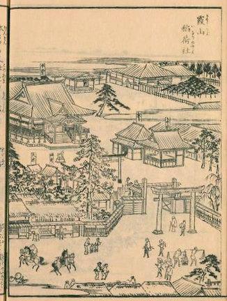 櫻田神社『江戸名所図会』