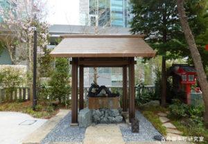 六本木天祖神社(龍土神明宮)手水舎