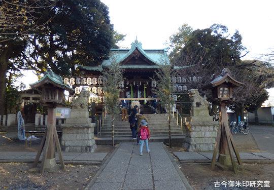 荏原七福神小山八幡神社