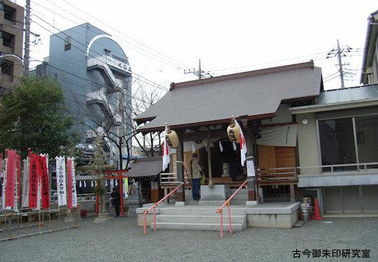 高山稲荷神社・中村天祖神社拝殿