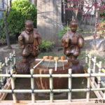 亀戸香取神社水掛け像