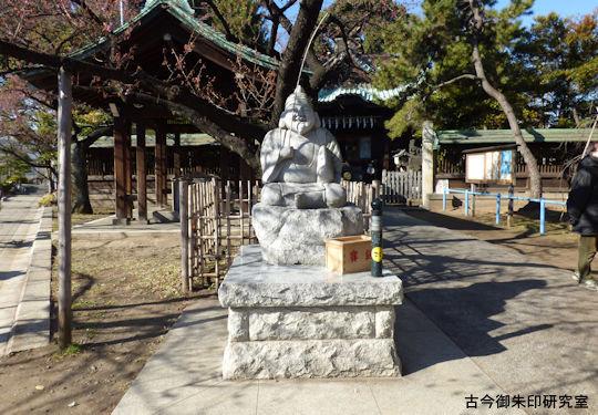 東海七福神荏原神社恵比須神像