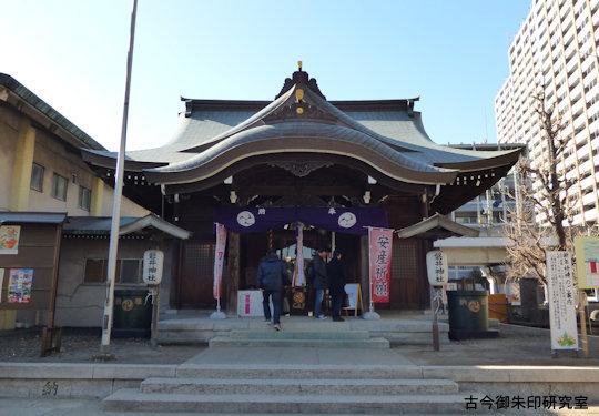 東海七福神磐井神社拝殿