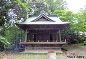 阿伎留神社神楽殿