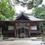阿伎留神社拝殿