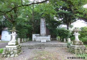阿伎留神社忠霊塔