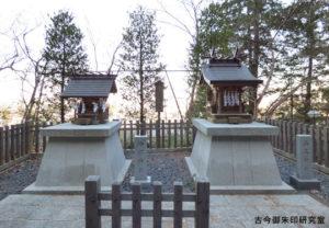 穴澤天神社神明社・山王社