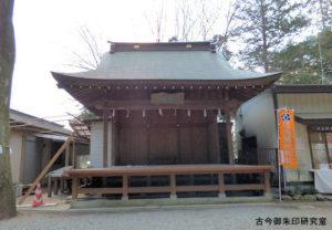 穴澤天神社神楽殿