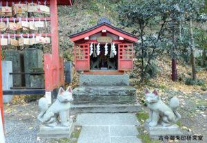穴澤天神社稲荷社