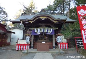 穴澤天神社拝殿