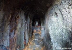 穴澤天神社洞窟