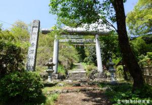 青渭神社一の鳥居