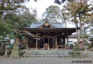 武蔵阿蘇神社拝殿