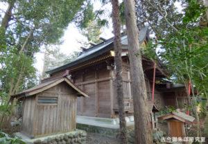武蔵阿蘇神社本殿(覆殿)