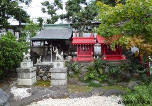 八幡八雲神社永寿稲荷神社・厳島神社・江島神社