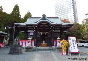 落合白山神社拝殿