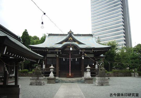 落合白山神社
