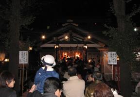 酉の市拝殿