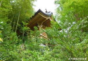 稲足神社本殿
