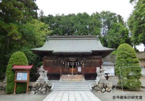 正一位岩走神社拝殿
