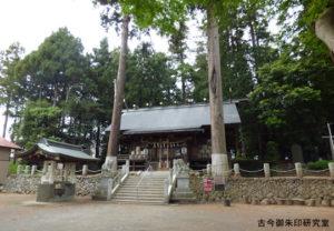 野上春日神社境内