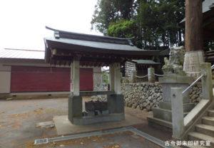 野上春日神社手水舎