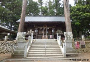 野上春日神社拝殿