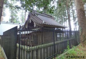野上春日神社本殿