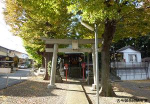 大蔵春日神社二の鳥居