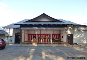 大蔵春日神社神楽殿