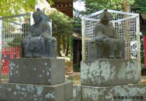 大蔵春日神社随神像