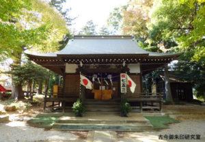 大蔵春日神社拝殿