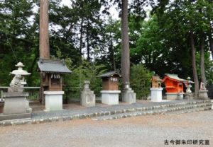 勝沼神社境内社