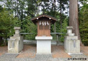勝沼神社琴平神社・熊野御嶽神社・山祇神社