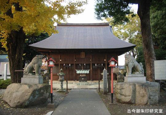 熊川神社拝殿