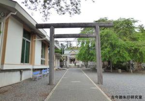 新町御嶽神社二の鳥居